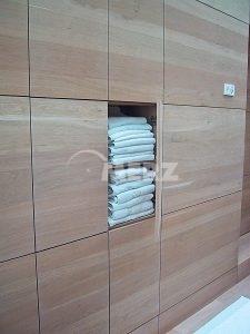 Bad Wandverkleidung Raumteiler Einbauschrank