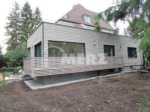 Anbau Fenster Holz Alu