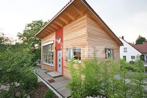 Holzbau Holz Alu Fenster Holzhaustüre